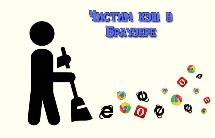 Как очистить кэш браузера?